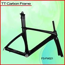 NEW Carbon Triathlon Frame , full Carbon Time Trial bicycle Frame, toray full carbon tt bike frame size 52/54/56cm FM021