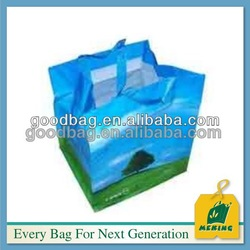 14years factory offer laminated non woven laundry 6 bottle wine tote bag