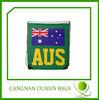 high quality customized small nylon mesh drawstring bag