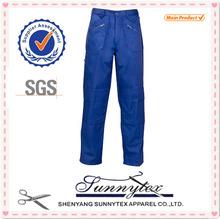 TC multi pocket cargo blue wear work trousers