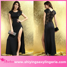 Hot Sale Wholesale Maxi Dress with Lace Back and Fishtail new design maxi dresses