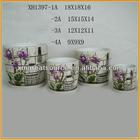 wholesale ceramic handmade flower pot with saucer