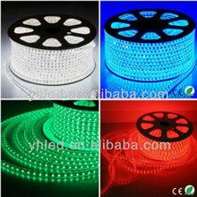 China led light 50m/Roll 100 meter flexible wire 5050 220V 60 led/m 110v 60hz led light strip