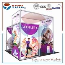 Modular trade exhibition stand 20x20