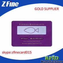Kredi kartı boyutunda plastik takvim kartı/cep boyutu takvim kartı