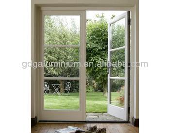 Cozy Design Garden Aluminium Glass French Door With Grills - Buy ...
