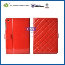 C&T Colorful housing for ipad mini leather case with stand cover book style