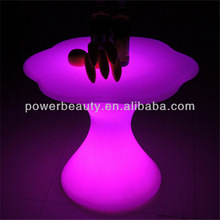 16 color light rechargeable LED table lighting decoration for bar party garden/led bar table/LED dinning table