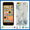 C&T Change color hard back plastic pc case for iphone 5c