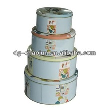 customized combined tin boxes with ISO certified