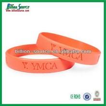 New coming antique bracelet debossed silicone