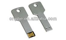 beautifull gift key shaped digital usb drive