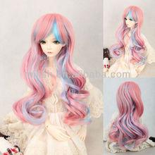 Cute kanekalon wholesale BJD doll wig for american girl doll BJDW-0050