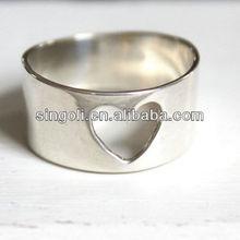 ingrosso 2014 alibaba argentium nudo il tuo cuore anello in argento sterling