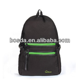 green backpack mix black bag shoulder