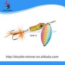 Lure Making DW8318 fishing spinner baits