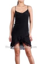 2014 new fashion women black sexy dress wedding dress online shopping