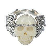 bone carving rings