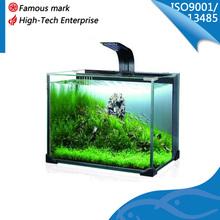 new design goldfish glass mini aquarium tank