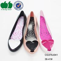 cheap wholesale ladies elegant beautiful flat shoes in china