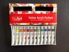 12ml acrylic paint set, nail art acrylic paint set, eco-friendly acrylic paints