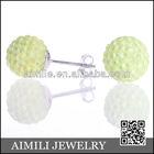 Shamball teenagers diamond chandelier earrings SE30