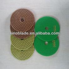 Wet polishing pad for granite/Diamond polishing pad/Granite marble polishing pad