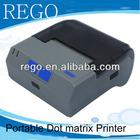 58mm mini mobile dot matrix printer bluetooth android smartphone support