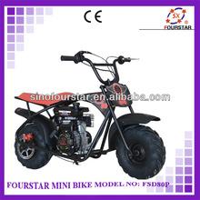 Best Selling New Stylish Hot Model Two Wheel Wholesale China Fourstar Mini Chopper Pocket Bike