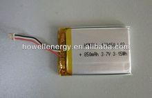3.7V 403450P lithium battery technologies