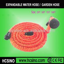 Factory wholesale promotion colorful 25,50,75,100ft retractable garden hose