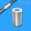 rib-peeling&thread rolling rebar couplers,mechanical rebar splice,rebar coupler price