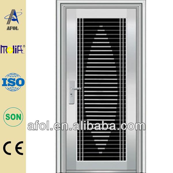 China Steel Door Low Price Stainless Steel Grill Door