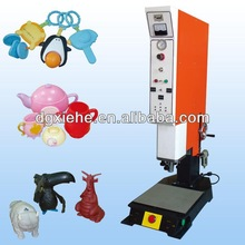 High velocity PLC touchscreen console-you save 20%cost 50%energy 80%labor-Plastic welding machine for kids toys