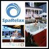 Hot sale luxury family use USA Balboa control system outdoor aqua massage aqua massage spa