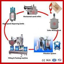 JCT self leveling epoxy resin floor coating making machines