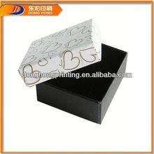 watch gift box,gift box heart shape plain