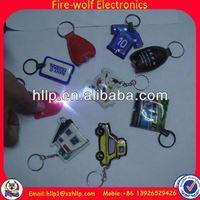 China Manufacturer Professional Logo OEM Business soft pvc sponge key rings