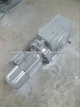 SA series helical worm geared motor