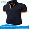 high quality plain cotton polo shirt for men