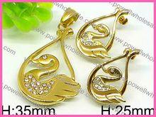 High Grade Jewellery Fashion Cute 2014 wholesale angel jewelry rhinestone wing