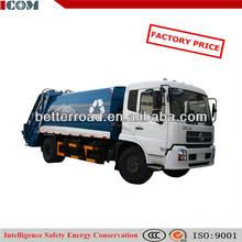 Compactor Garbage Truck / Box Volume:14 m3
