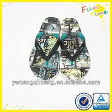 china nice color soft feeling mens slipper hawaii chappal on sale