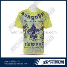 moisture wicking sport printed t-shirt printing 2014