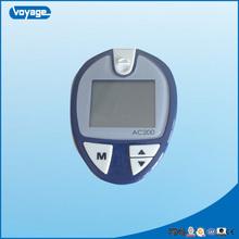 China CE FDA ISO marked best price blood uric acid cholesterol glucose monitor