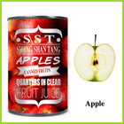 good quality delicious canned apple