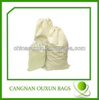 China Wholesale muslin fabric drawstring cotton bag