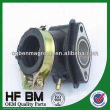 parts of a motorcycle carburetor 4-stroke,Gy6-125 motorcycle engine carburetor insulator, air intake tube