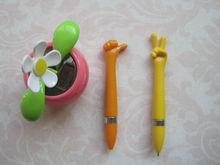 Very Cheap Promotional Plastic Finger Ball Pen