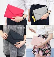 Luxury Smart Clutch pouch handbag design wallet case cover for Apple iPad Mini 2